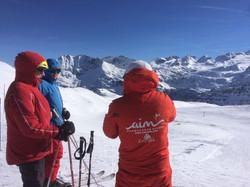 Professional snowsports instructors