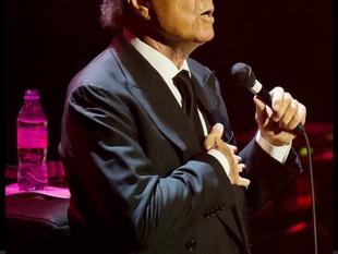 Julio Iglesias, concert aniversar 50 ani de cariera, Royal Albert Halli