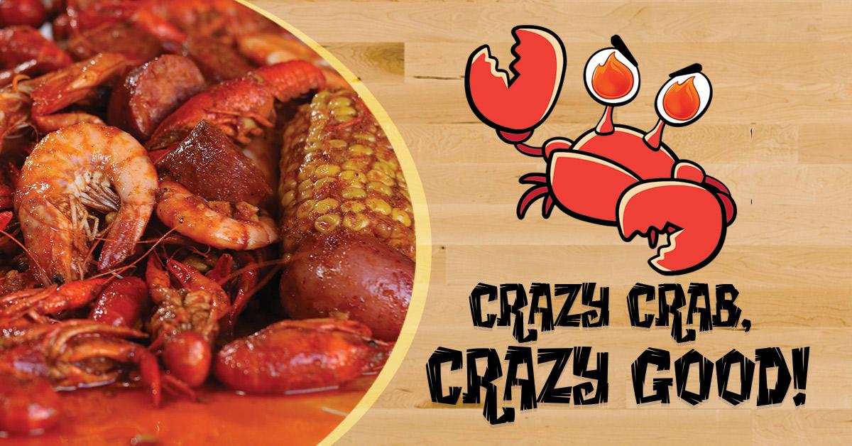 Crazy Crab Cajun Amp Creole Seafood Restaurant