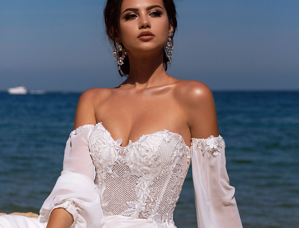 Rochia de mireasa de plaja Charlotte MM