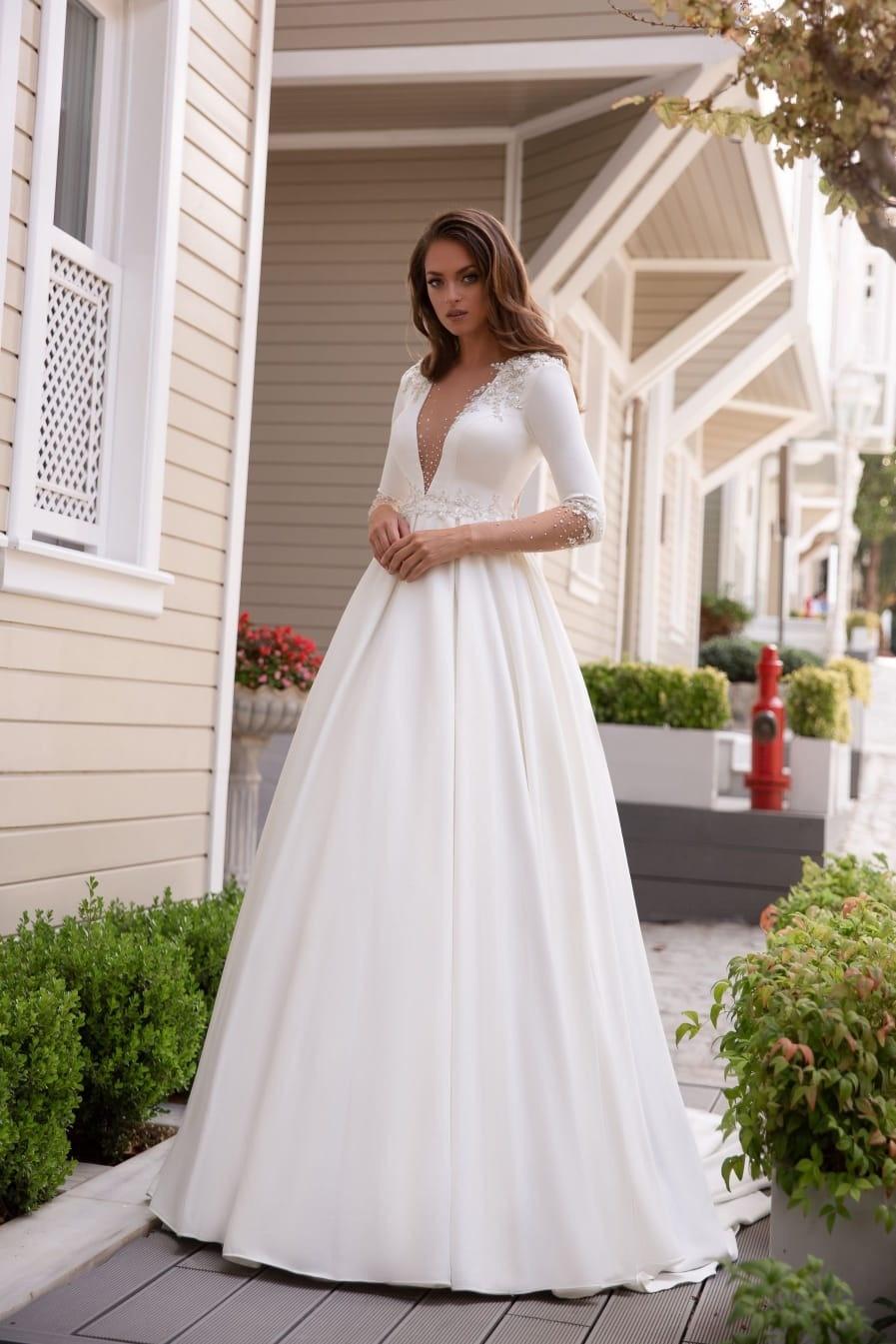 rochii de mireasa simple, rochii de mireasa lux