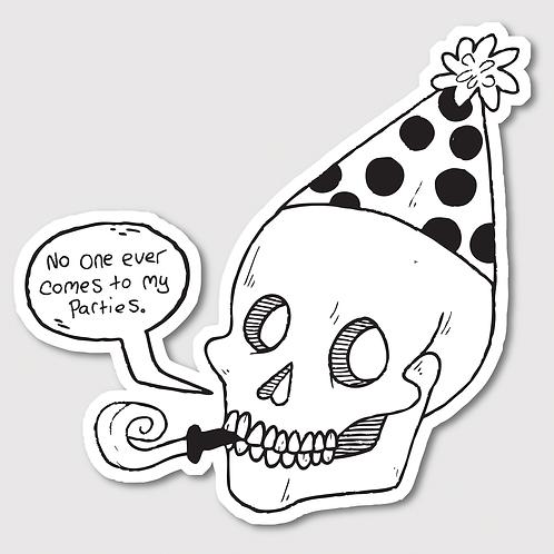 Party Skull • Sticker