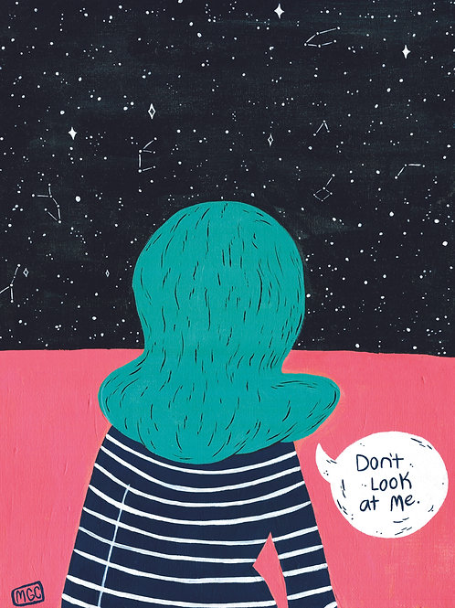 Don't Look • Print