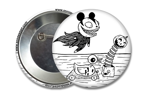 Nightmare Before Christmas Toys • Matte Button