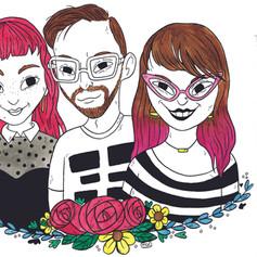 Megan, Ash, & Brendan