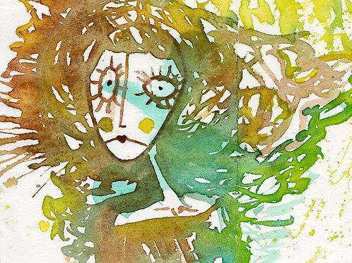 Mystery Watercolor • Original