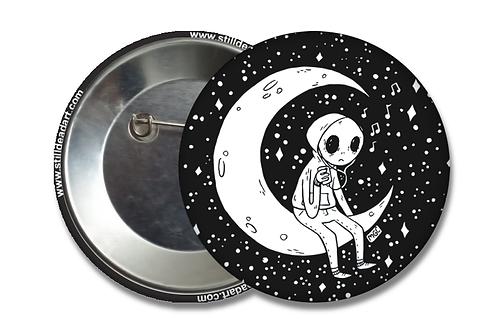 Emo Alien • Matte Button