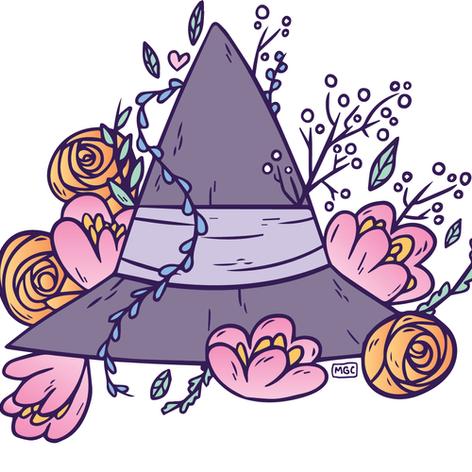 Summer Witch Hat