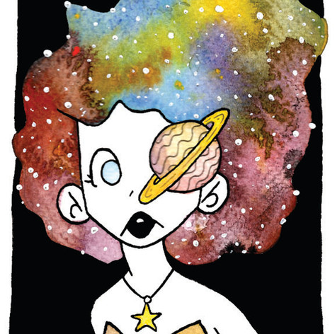 She Has the Universe in There