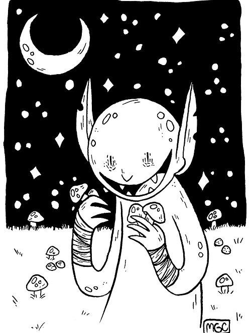 Mushroom Goblin • Print