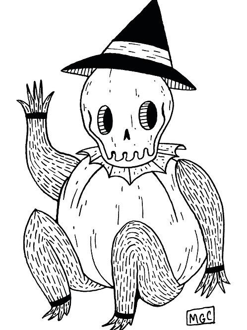 Harvest Skeleton • Print