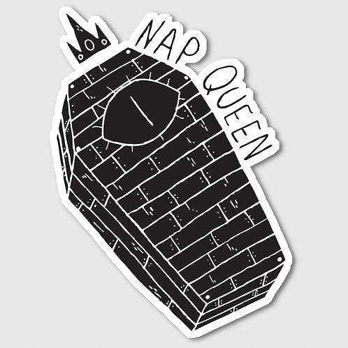 Nap Queen • Sticker