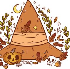 Autumn Witch Hat