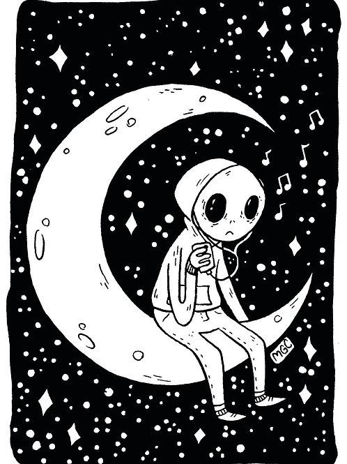 Emo Alien • Print