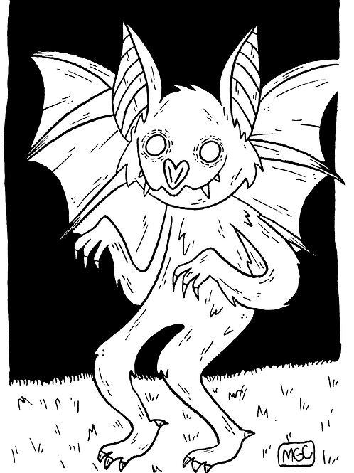 Batsquatch • Print