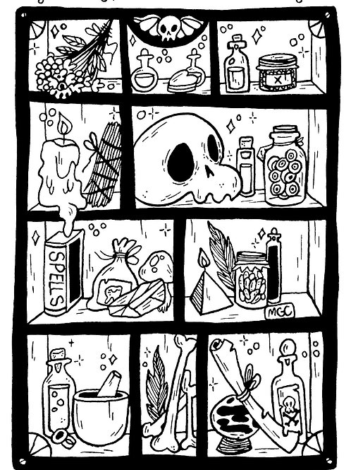 Apothecary • Print