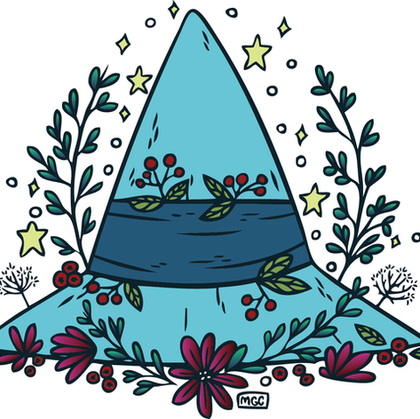 Winter Witch Hat