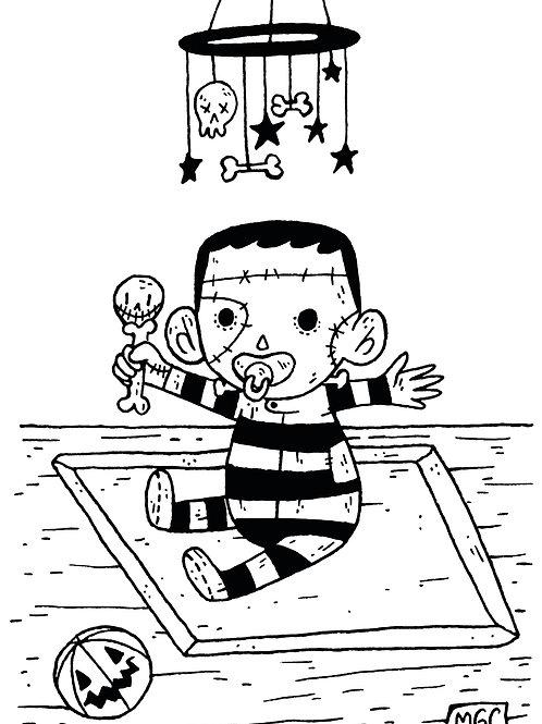 Baby Frankenstein • Print