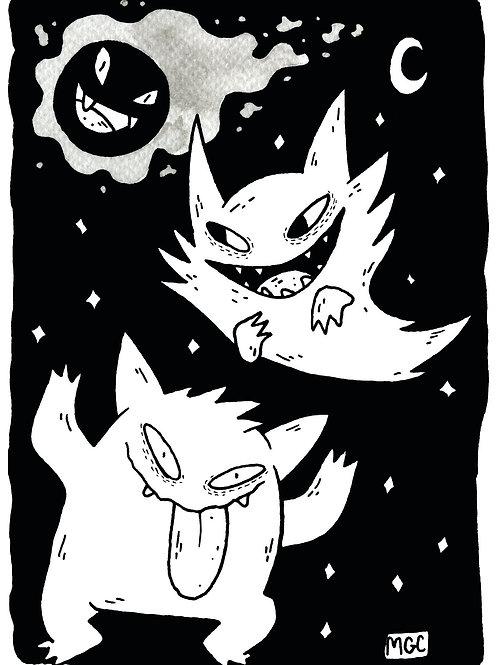 Poké Ghosts • Print