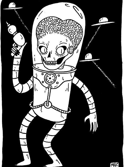 Mars Attacks • Print