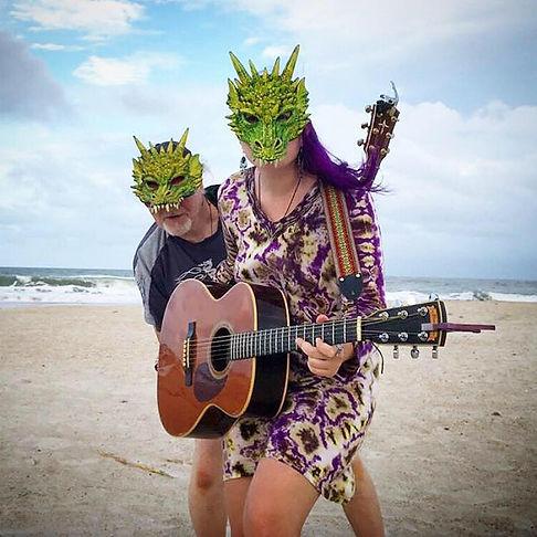 Beach Goin' Dragons