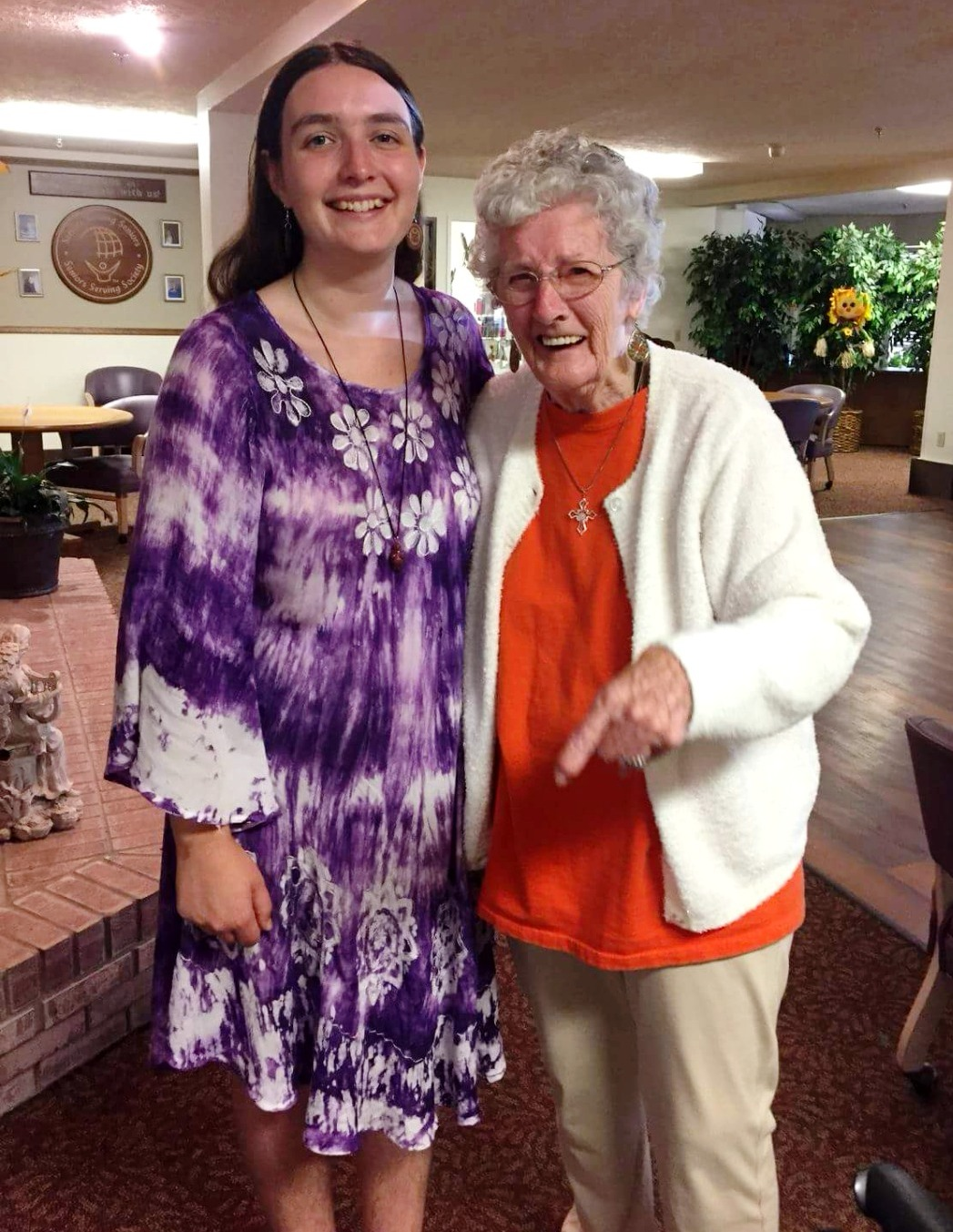 Mariah Dawn & Her Grandmother