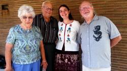Phyllis, David, Mariah, & Randy