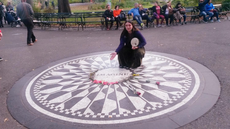 John Lennon Memorial & Mariah Dawn