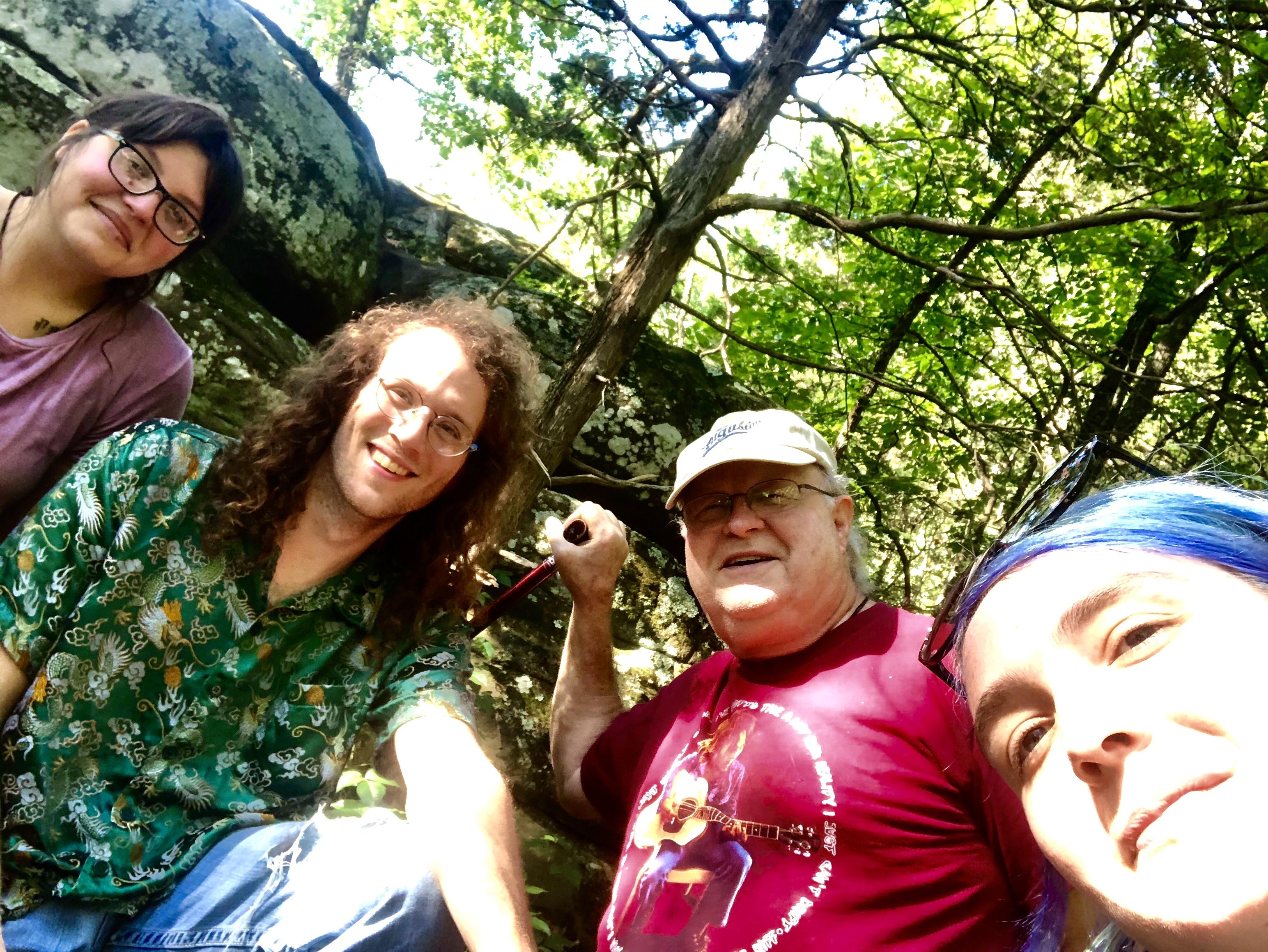 Juniper, Jarrek, Randy & Mariah