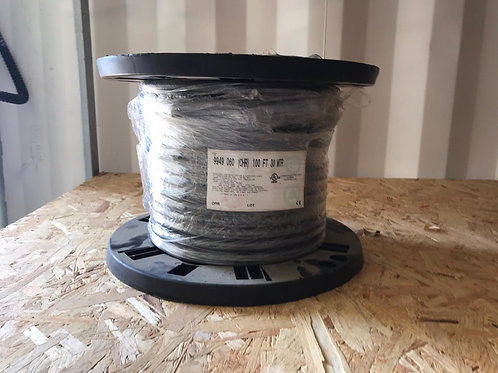 9949 - RS-232, #22-37c, SR-PVC, O/A Foil+Braid, PVC Jkt, CMG
