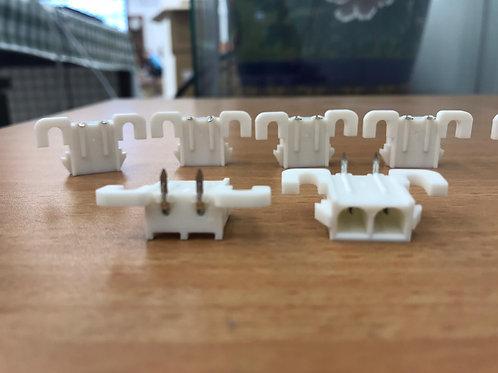 1-350942-0 Pin & Socket Connectors 2 POS STD RT ANGLE