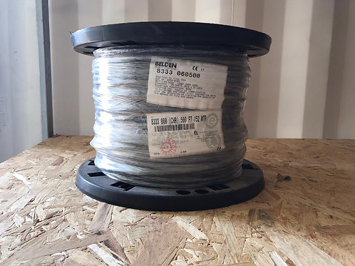 8333 - RS232, Low Cap, #24-3pr, SR-PVC, O/A Foil+Braid, PVC Jkt, CMG