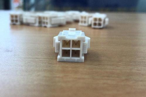 39-01-2046 Headers & Wire Housings 4 CKT PLUG HOUSING