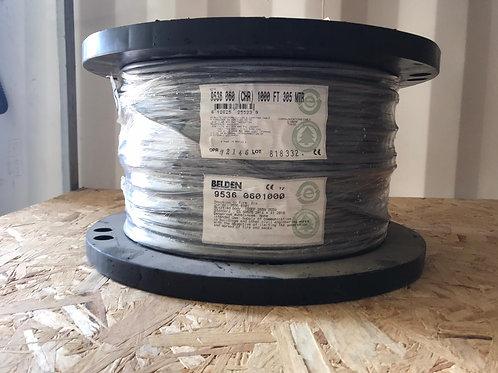 9536 - RS-232, #24-6c, SR-PVC, O/A Foil, PVC Jkt, CMG