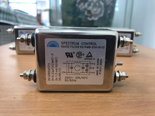 Power Line Filters P/L FILTER 250V 20A