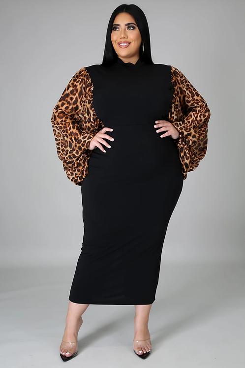 Cheetah Winner Dress