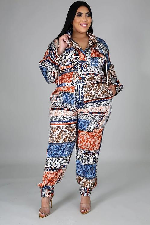 Perfect print jumpsuit