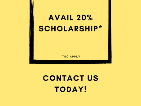 Admissions Now Open for Classes XI and XII! (Scholarship Alert!)