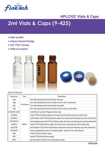 2mL Vials & Caps (9-425)