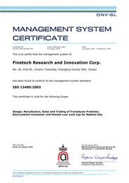 DNV GL ISO 13485:2003