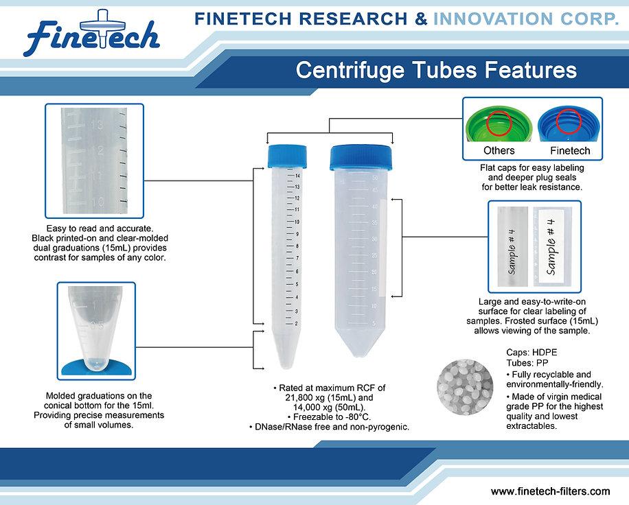 Finetech Centrifuge Tube Diagram