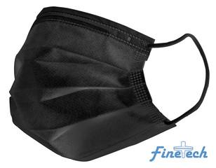 Finetech Black Face Mask