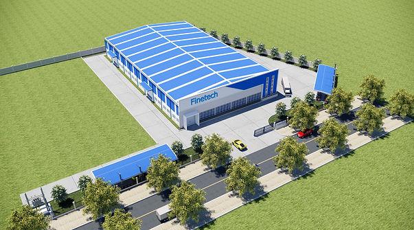 Finetech new vietnam factory