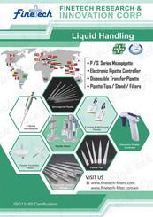 Finetech Liquid Handling 2020