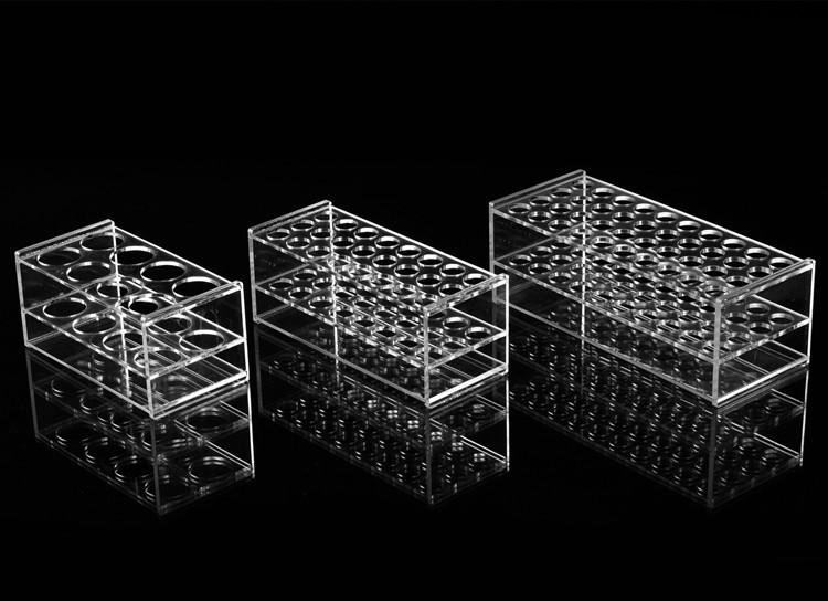acrylic centrifuge tube rack