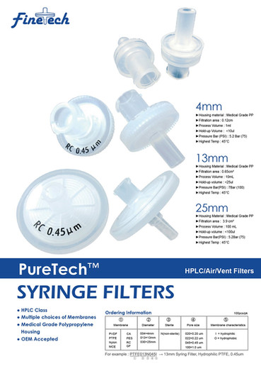 PureTech Syringe Filters