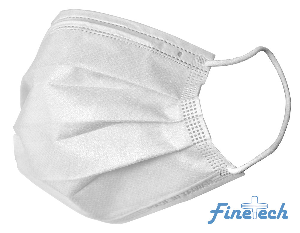 Finetech White Face Mask