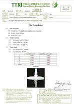 50mm Air Filter Test Report