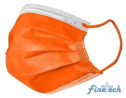 Finetech Orange Face Mask