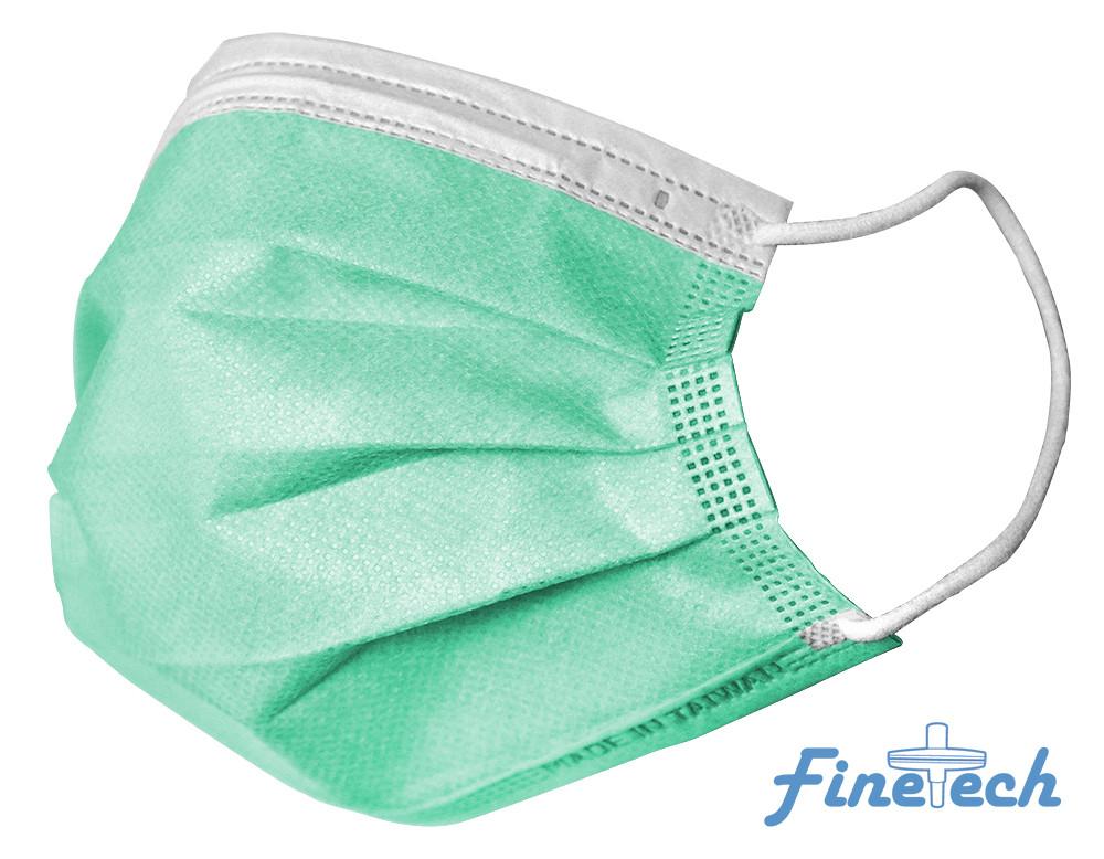 Finetech Green Face Mask